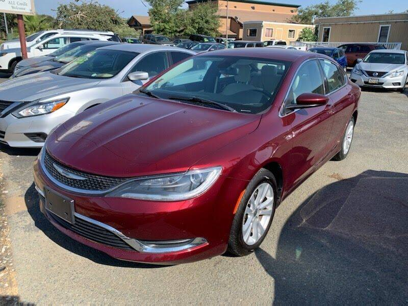 2015 Chrysler 200 for sale at Contra Costa Auto Sales in Oakley CA
