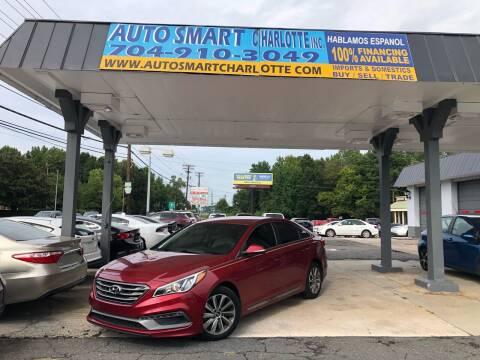 2016 Hyundai Sonata for sale at Auto Smart Charlotte in Charlotte NC