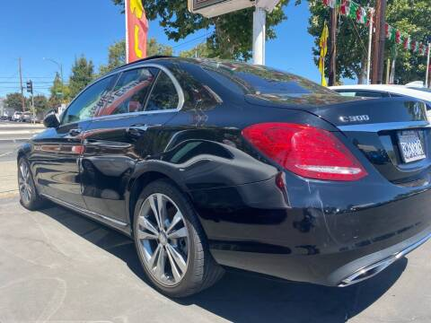 2015 Mercedes-Benz C-Class for sale at San Jose Auto Outlet in San Jose CA