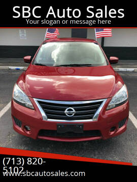 2013 Nissan Sentra for sale at SBC Auto Sales in Houston TX