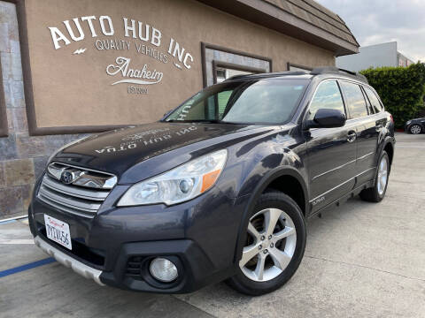 2013 Subaru Outback for sale at Auto Hub, Inc. in Anaheim CA