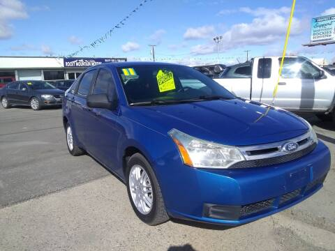2011 Ford Focus for sale at Kevs Auto Sales in Helena MT