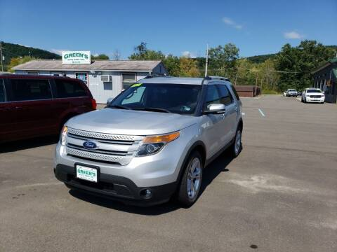 2015 Ford Explorer for sale at Greens Auto Mart Inc. in Wysox PA
