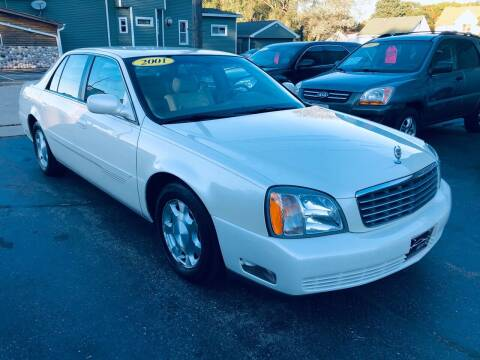 2001 Cadillac DeVille for sale at SHEFFIELD MOTORS INC in Kenosha WI