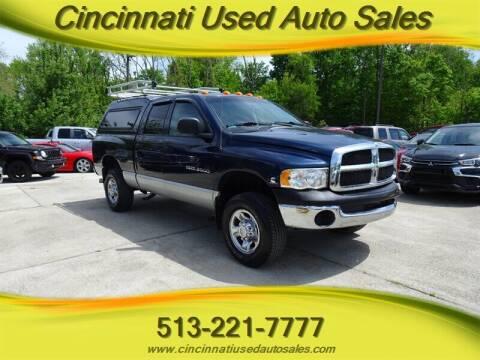 2003 Dodge Ram Pickup 2500 for sale at Cincinnati Used Auto Sales in Cincinnati OH