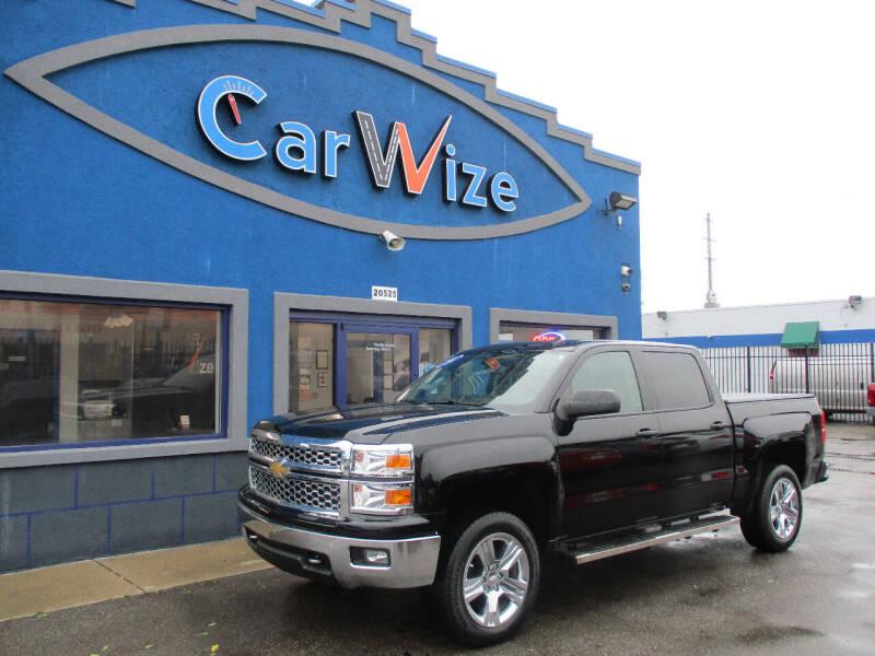 2014 Chevrolet Silverado 1500 for sale at Carwize in Detroit MI