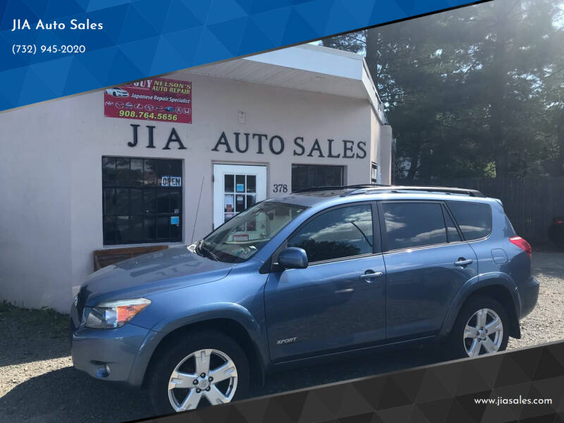 2008 Toyota RAV4 for sale at JIA Auto Sales in Port Monmouth NJ