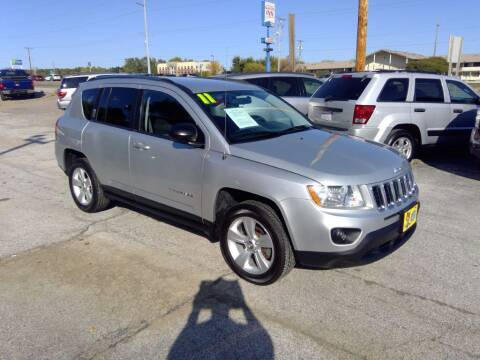 2011 Jeep Compass for sale at Regency Motors Inc in Davenport IA