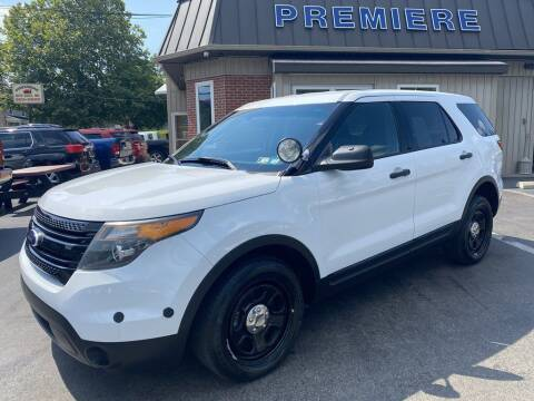 2015 Ford Explorer for sale at Premiere Auto Sales in Washington PA