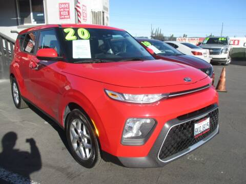 2020 Kia Soul for sale at Quick Auto Sales in Modesto CA