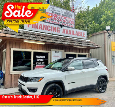 2019 Jeep Compass for sale at Oscar's Truck Center, LLC in Houston TX