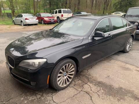 2012 BMW 7 Series for sale at MEE Enterprises Inc in Milford MA