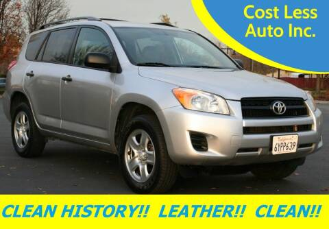 2012 Toyota RAV4 for sale at Cost Less Auto Inc. in Rocklin CA