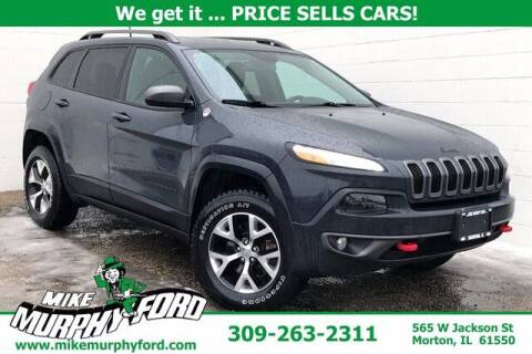 2017 Jeep Cherokee for sale at Mike Murphy Ford in Morton IL