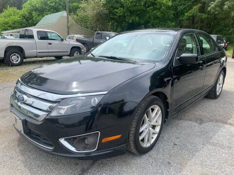 2011 Ford Fusion for sale at ATLANTA AUTO WAY in Duluth GA