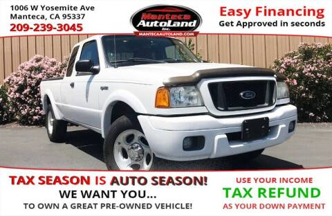 2004 Ford Ranger for sale at Manteca Auto Land in Manteca CA