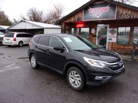 2015 Honda CR-V for sale at LEE AUTO SALES in McAlester OK