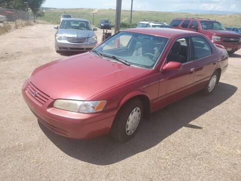 1998 Toyota Camry for sale at PYRAMID MOTORS - Pueblo Lot in Pueblo CO