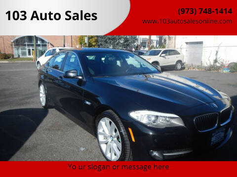 2013 BMW 5 Series for sale at 103 Auto Sales in Bloomfield NJ