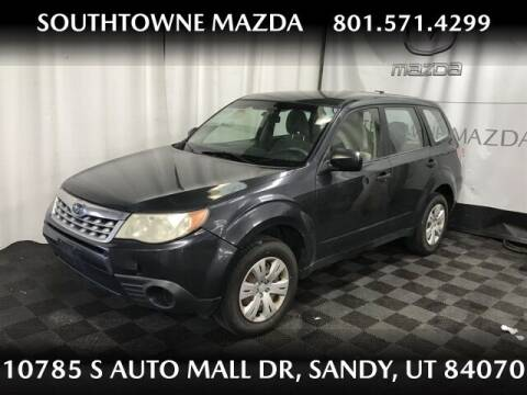 2012 Subaru Forester for sale at Southtowne Mazda of Sandy in Sandy UT