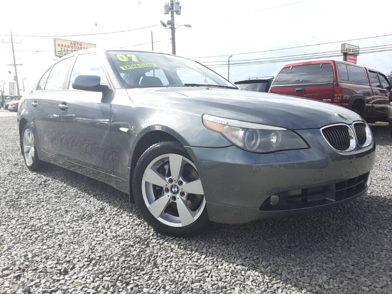 2007 BMW 5 Series for sale at Auto Headquarters in Lakewood NJ