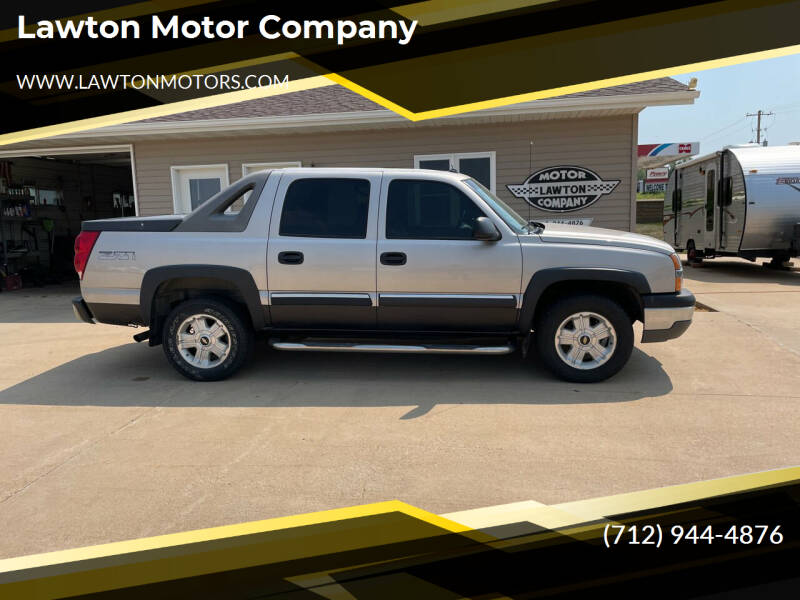2004 Chevrolet Avalanche for sale at Lawton Motor Company in Lawton IA
