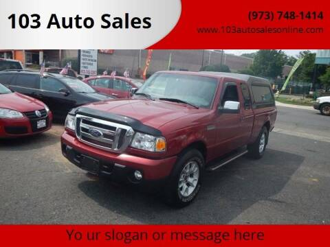 2010 Ford Ranger for sale at 103 Auto Sales in Bloomfield NJ
