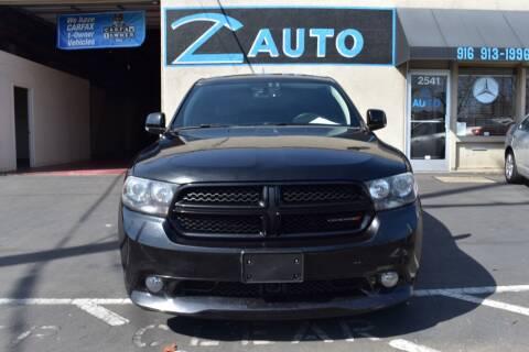 2013 Dodge Durango for sale at Z Auto in Sacramento CA