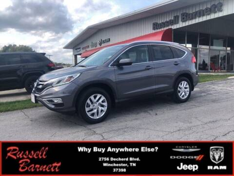 2015 Honda CR-V for sale at Russell Barnett Chrysler Dodge Jeep Ram in Winchester TN