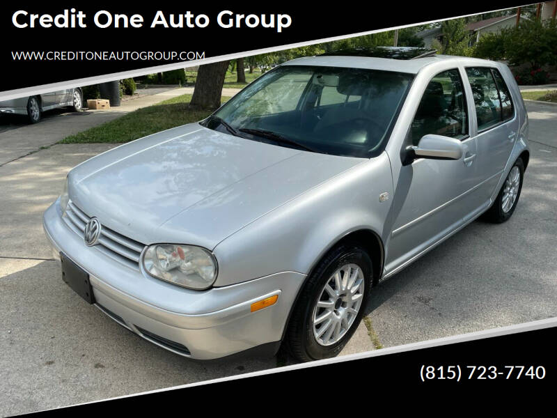 2006 Volkswagen Golf for sale at Credit One Auto Group in Joliet IL