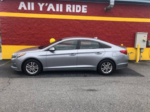 2015 Hyundai Sonata for sale at Big Daddy's Auto in Winston-Salem NC