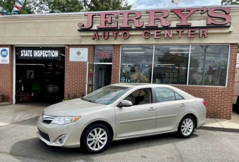 2014 Toyota Camry for sale at JERRY'S AUTO CENTER in Bellmore NY