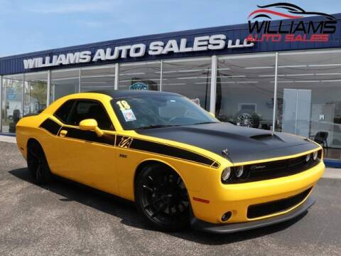 2018 Dodge Challenger for sale at Williams Auto Sales, LLC in Cookeville TN