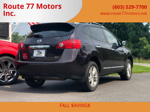 2015 Nissan Rogue Select for sale at Route 77 Motors Inc. in Weare NH