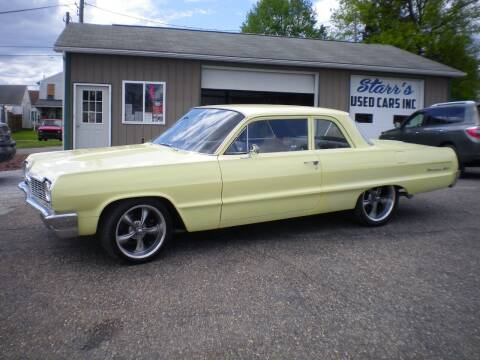 1964 Chevrolet Biscayne for sale at Starrs Used Cars Inc in Barnesville OH