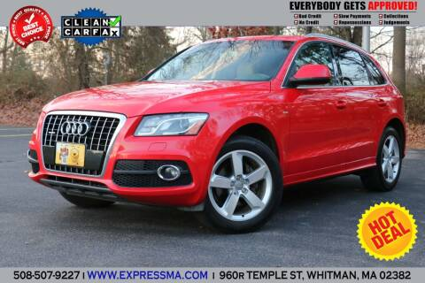 2011 Audi Q5 for sale at Auto Sales Express in Whitman MA