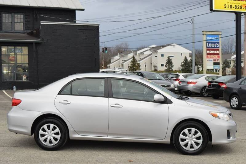 2011 Toyota Corolla for sale at Broadway Motor Car Inc. in Rensselaer NY