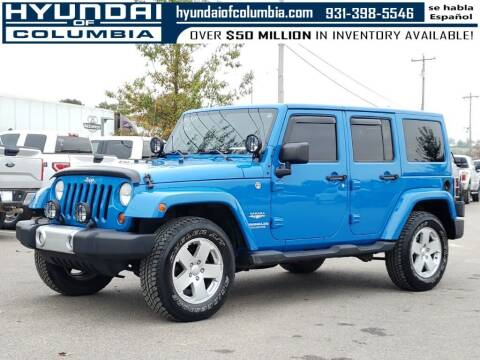 2011 Jeep Wrangler Unlimited for sale at Hyundai of Columbia Con Alvaro in Columbia TN
