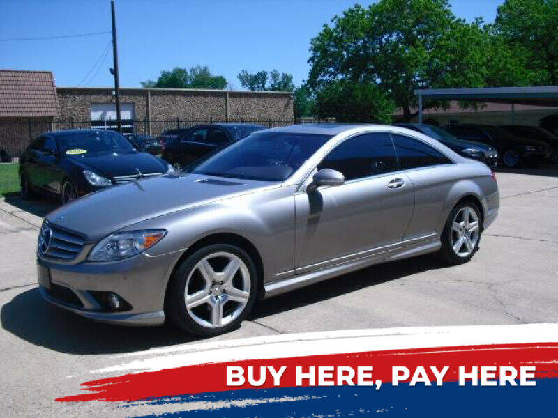 2007 Mercedes-Benz CL-Class for sale at German Exclusive Inc in Dallas TX