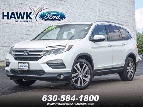 2017 Honda Pilot for sale at Hawk Ford of St. Charles in Saint Charles IL