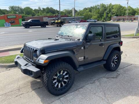 2018 Jeep Wrangler for sale at Greg's Auto Sales in Poplar Bluff MO