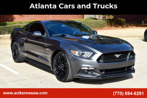 2015 Ford Mustang for sale at Atlanta Cars and Trucks in Kennesaw GA
