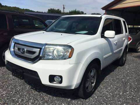2011 Honda Pilot for sale at M&L Auto, LLC in Clyde NC