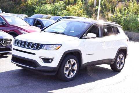 2018 Jeep Compass for sale at Automall Collection in Peabody MA