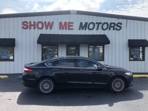 2015 Ford Fusion for sale at SHOW ME MOTORS in Cape Girardeau MO