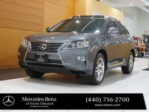 2013 Lexus RX 350 for sale at Mercedes-Benz of North Olmsted in North Olmstead OH