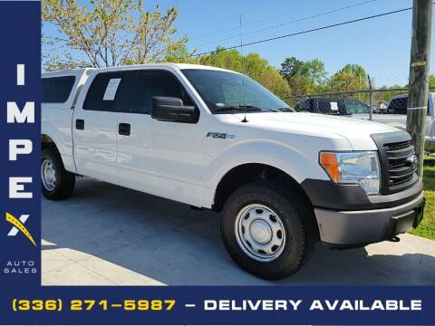 2013 Ford F-150 for sale at Impex Auto Sales in Greensboro NC