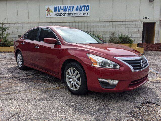 2015 Nissan Altima for sale at Nu-Way Auto Ocean Springs in Ocean Springs MS