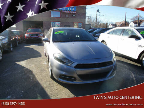 2016 Dodge Dart for sale at Twin's Auto Center Inc. in Detroit MI