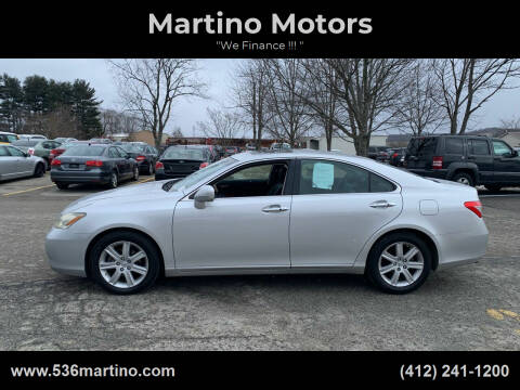 2007 Lexus ES 350 for sale at Martino Motors in Pittsburgh PA